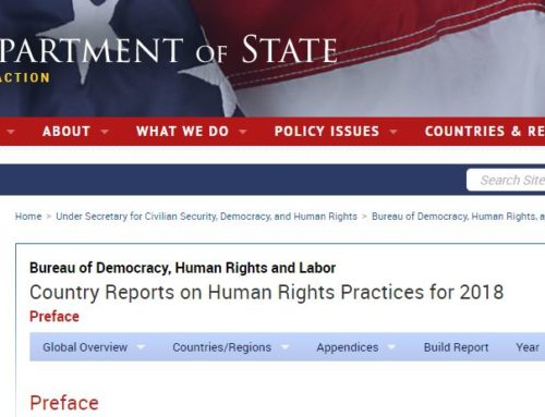 Human Rights and Labor Country Reports on Human Rights Practices for 2018