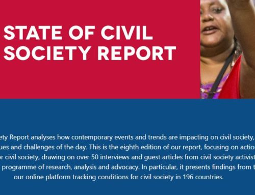 2019 State of civil society report by CIVICUS
