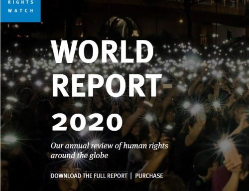 WORLD REPORT 2020 : Human Right Watch